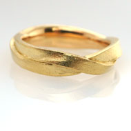 Partnerring Gelbgold 750 Nr. 5201